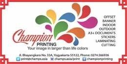 Cv Champion Printing